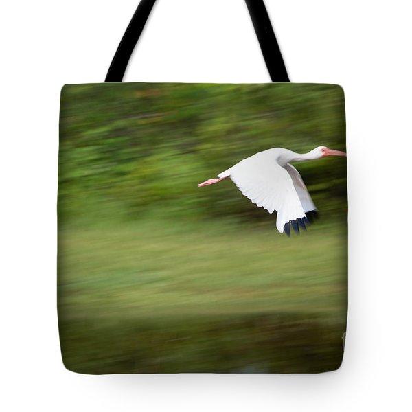 Caught In Flite Tote Bag