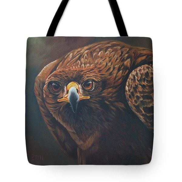 Caught In Sight Tote Bag
