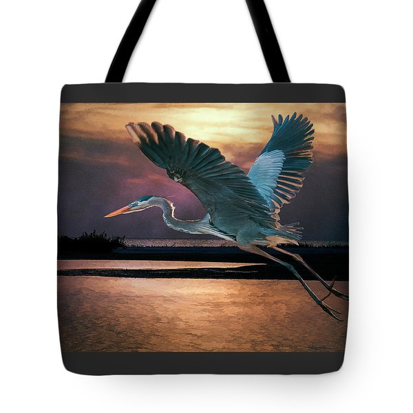 Caught In The Afterglow Tote Bag
