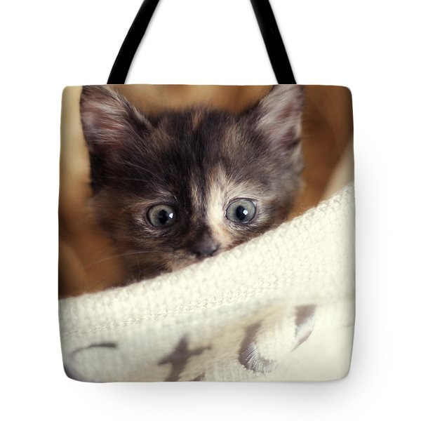 Tote Bag featuring the photograph In The Hamper by Amy Tyler