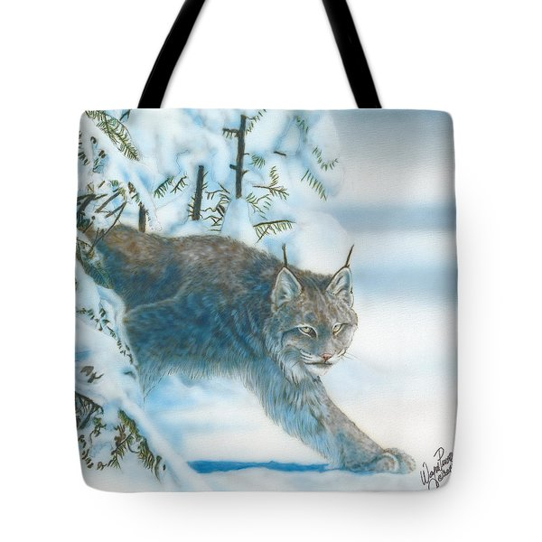 Caught In The Open Tote Bag