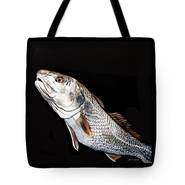 Caught In The Surf Redfish Tote Bag