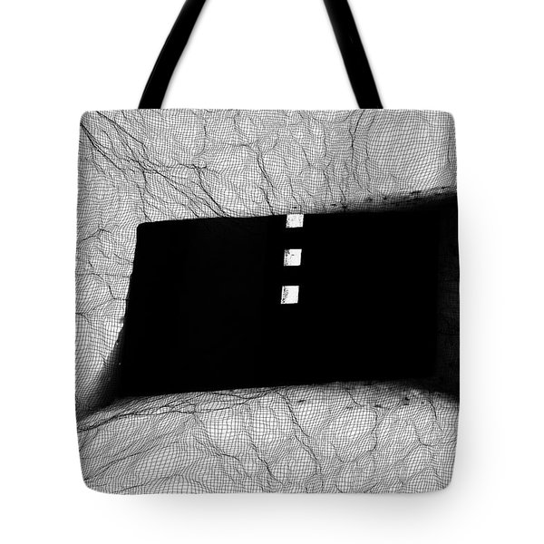 Caught In The Web  Tote Bag