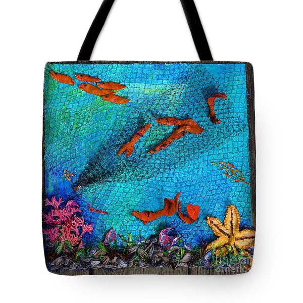 Caught Not Caught Tote Bag