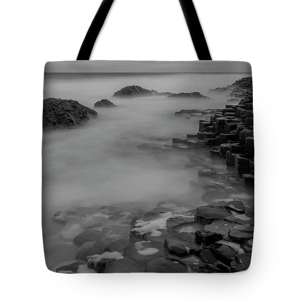 Tote Bag featuring the photograph Causeway Stones by Roy McPeak