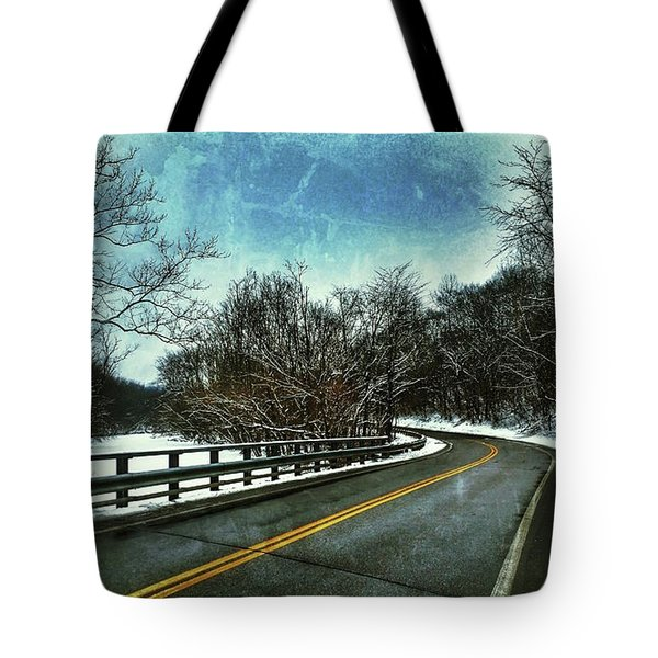 Caution Two Tote Bag