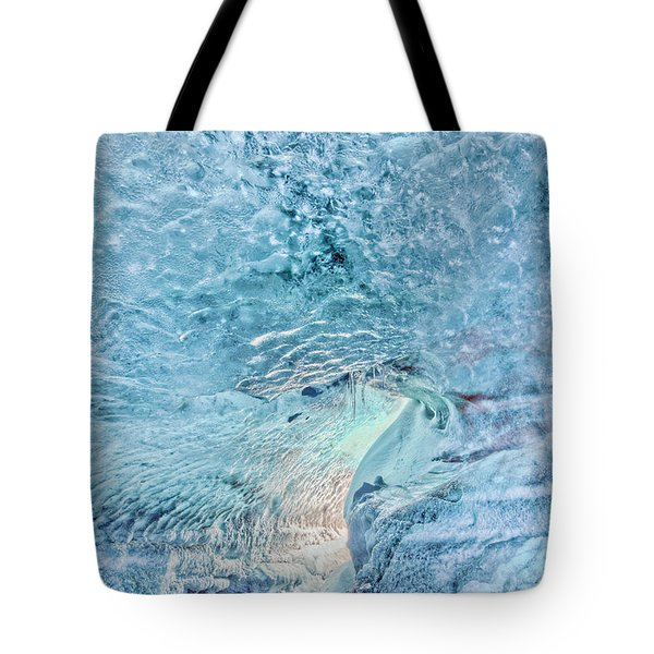 Tote Bag featuring the photograph Cave Colors by Wanda Krack
