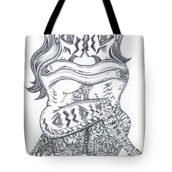 Private Dance Tote Bag