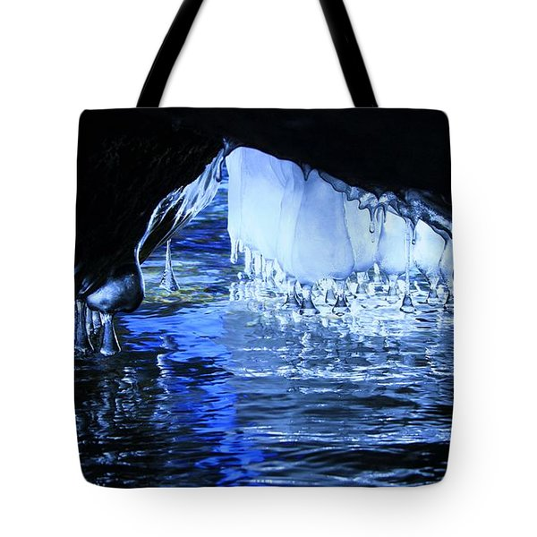 Tote Bag featuring the photograph Cave Dwellers by Sean Sarsfield