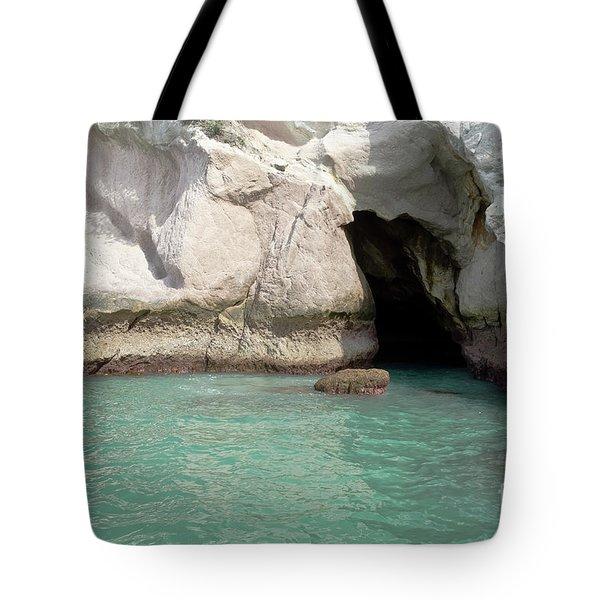 Cave Entranve Tote Bag