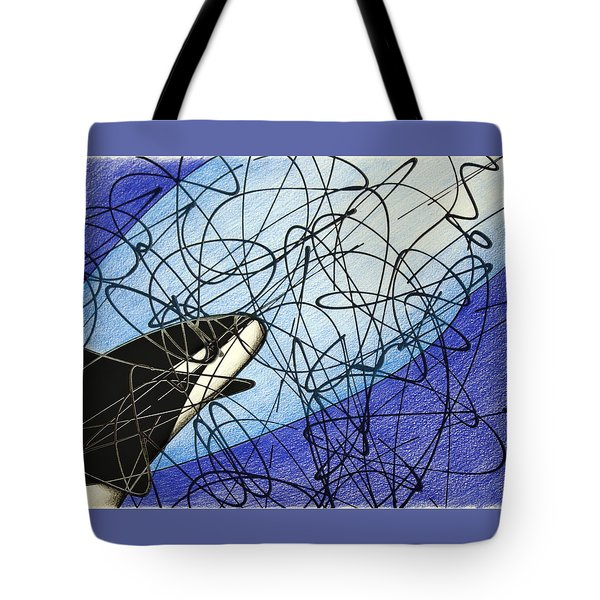 Cave Exploration Tote Bag