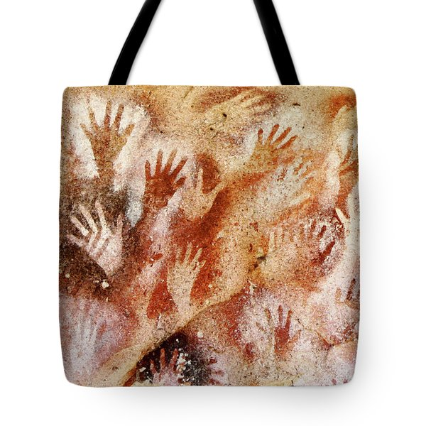 Cave Of The Hands - Cueva De Las Manos Tote Bag