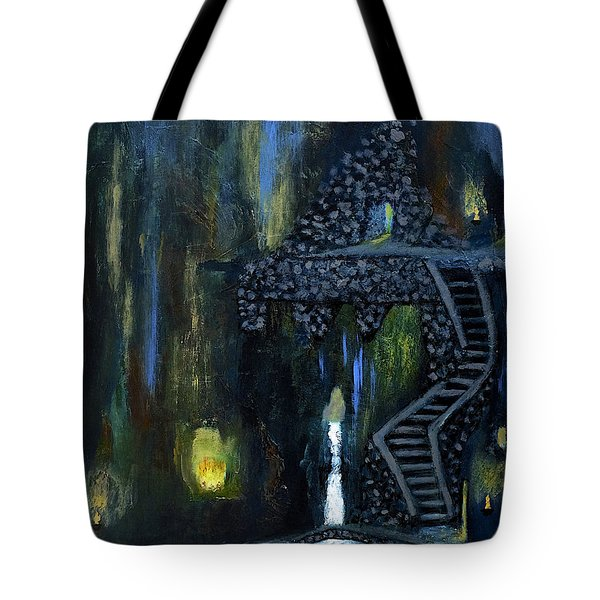 Cave Of Thrones Tote Bag