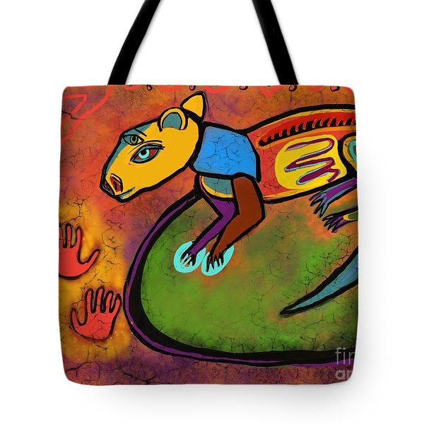 Cave Rat Tote Bag