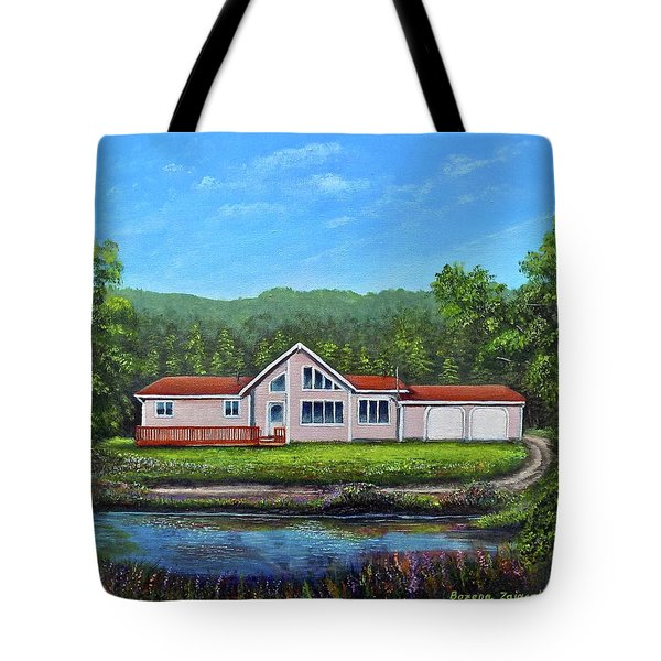 Cavendish House Tote Bag