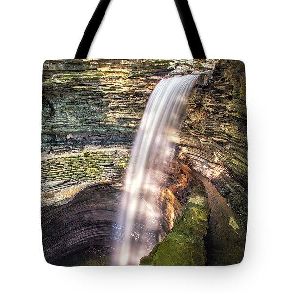 Cavern Cascade Tote Bag