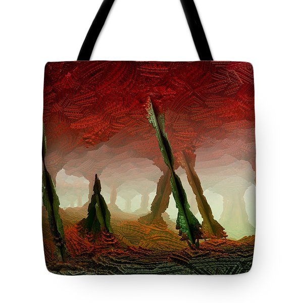 Cavern Tote Bag by Matt Lindley