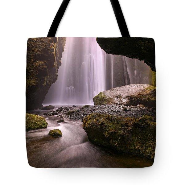 Cavern Of Dreams Tote Bag by Dustin  LeFevre