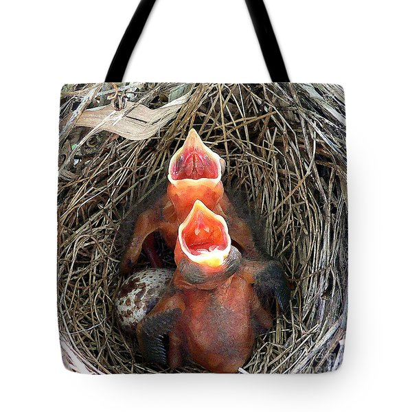 Cavernous Cardinals Tote Bag