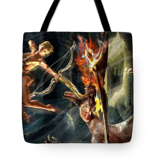 Tote Bag featuring the photograph Caverns Of Light by Glenn Feron