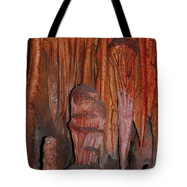 Caves In Arizona Tote Bag by Donna Greene