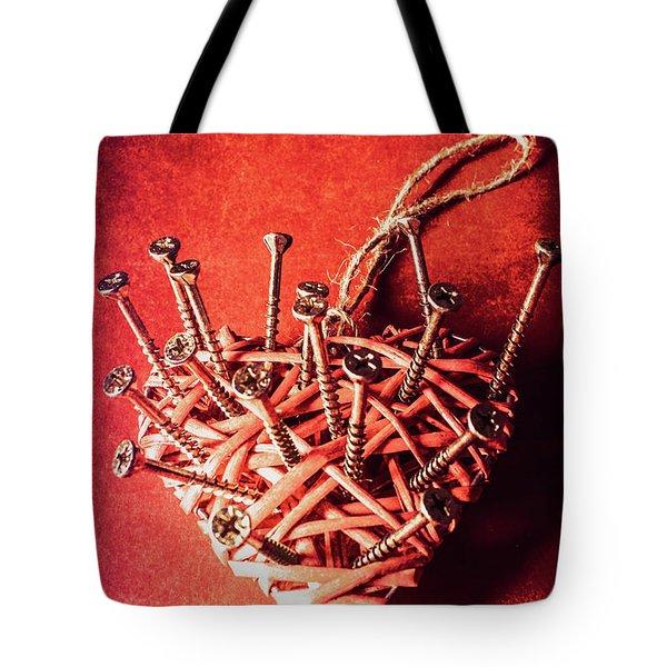 Cavities Of Love Tote Bag