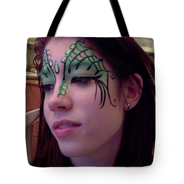 Cayce Dragon Princess Tote Bag