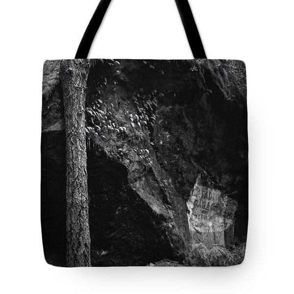 Cazadero, Ca  Vintage Sign Tote Bag