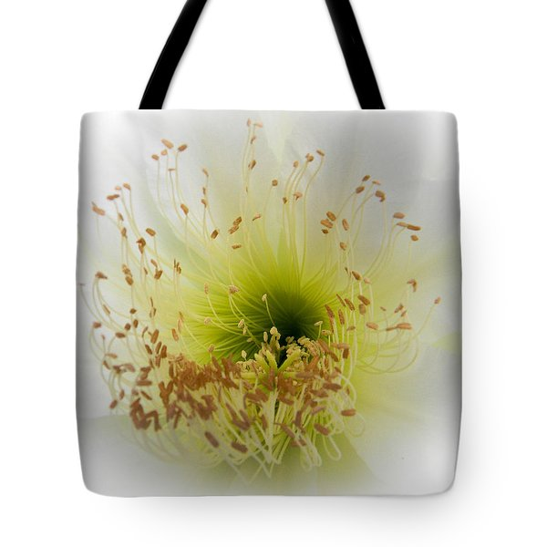 Cctus Flower Tote Bag by Christy Usilton
