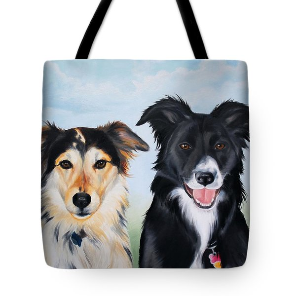 Caesar And Gypsy Tote Bag