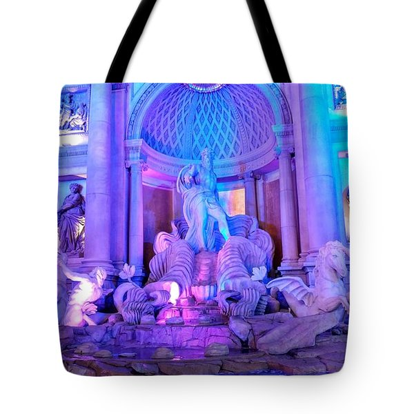 Ceasars Palace Forum Shops Tote Bag