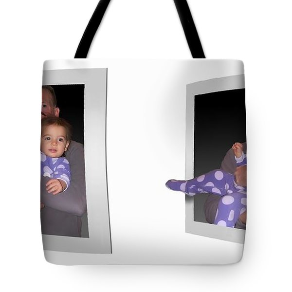 Cece - Gently Cross Your Eyes And Focus On The Middle Image Tote Bag by Brian Wallace