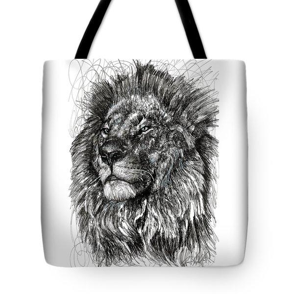 Cecil The Lion Tote Bag