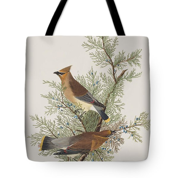 Cedar Bird Tote Bag