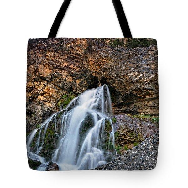 Cedar Creek Falls 2 Tote Bag by Leland D Howard