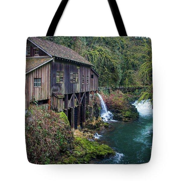 Cedar Grist Mill Tote Bag