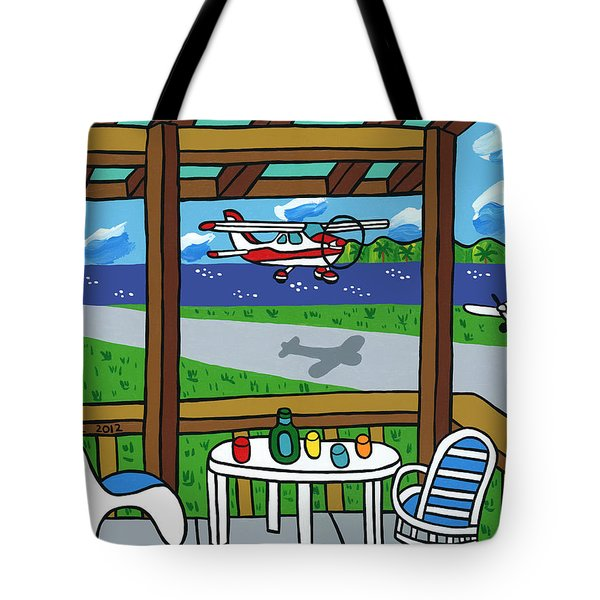 Cedar Key Airport Tote Bag