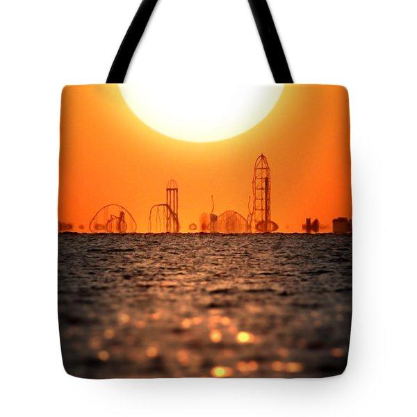 Cedar Point Skyline 2 Tote Bag