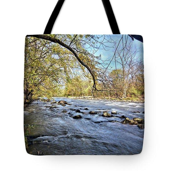 Cedar River 2 Tote Bag