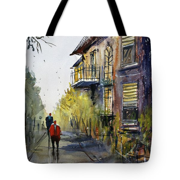 Cedarburg Shadows Tote Bag
