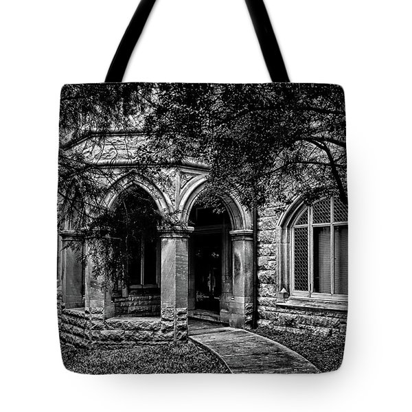 Tote Bag featuring the photograph Cedarhyrst by Jessica Brawley