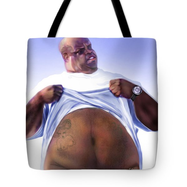 Cee Lo Green-the Day I Lost My Mind Tote Bag by Reggie Duffie
