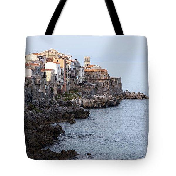 Cefalu, Sicily Italy Tote Bag