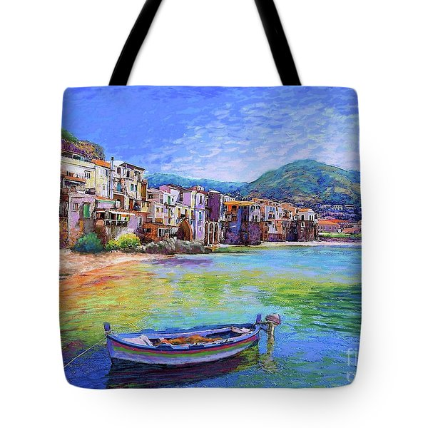 Cefalu Sicily Italy Tote Bag