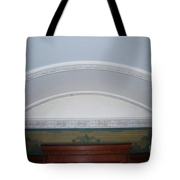 Tote Bag featuring the photograph Ceiling by Bill Thomson