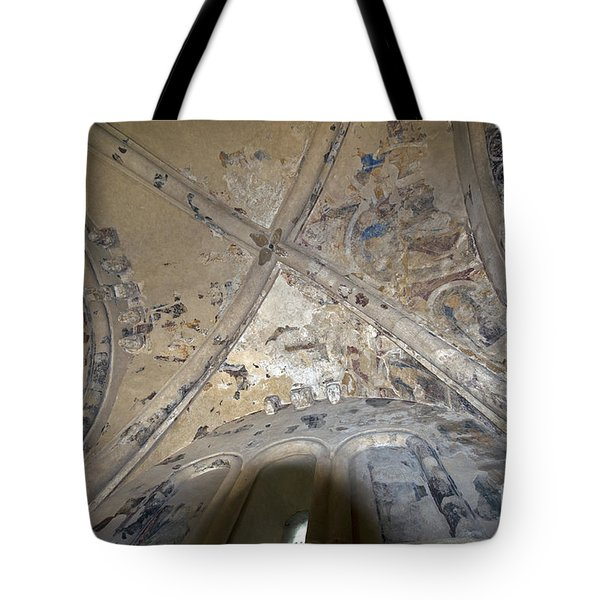 Ceiling Of Cormac's Chapel Tote Bag