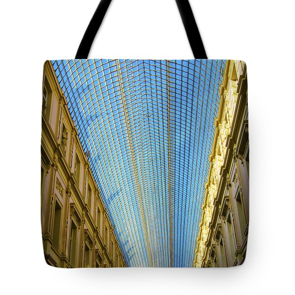Tote Bag featuring the photograph Ceiling  by Pravine Chester