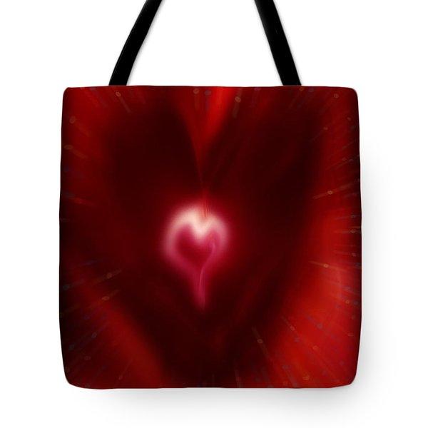 Celebrate Love Tote Bag by Linda Sannuti