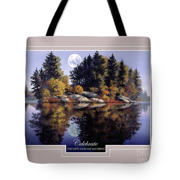 Tote Bag featuring the painting Celebrate by Michael Swanson