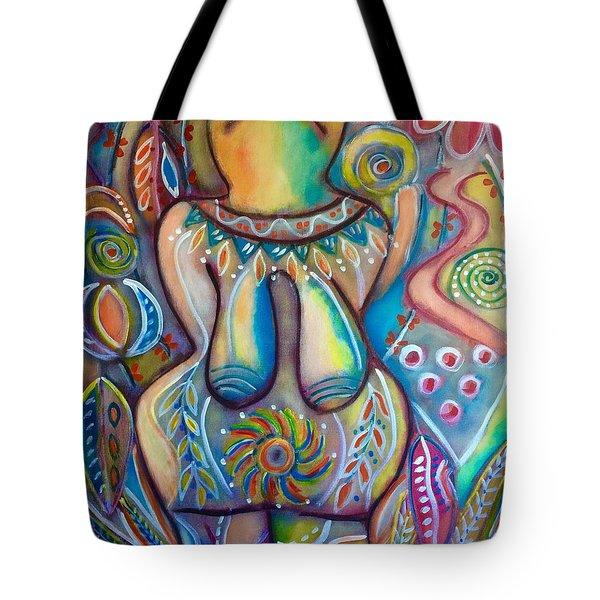 Celebrate The Feminine Power  Tote Bag